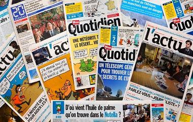 Animation scolaire Atelier Presse - Comment se compose un journal (avec Ludivisites Lyon) - Animation scolaire pour les classes de Lyon